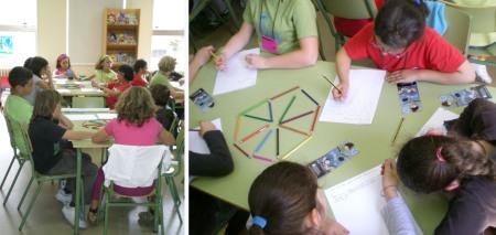 Taller de escrita creativa cos nenos que asistiron á Escola de Verán no CEIP López Ferreiro