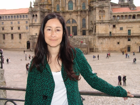 "Natalia Colombo, autora e ilustradora de ""Cerca"""