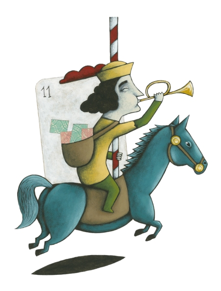 Ilustración Batalla de Naipes de Josep Rodes