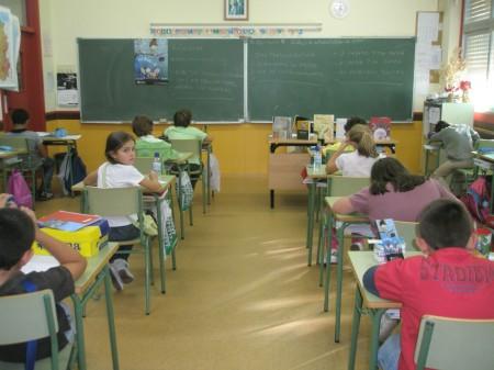 Creando coplas no colexio de Ventín.
