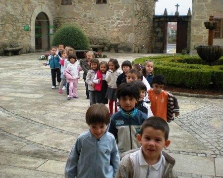 Chegan os nenos do Agro do Muiño