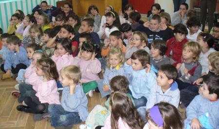 Nenos e nenas de Codeseda en PALABRAS NO AR