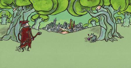 Ilustración de A banda de Vilacendoi_Xulio Gayoso_Kalandraka Editora
